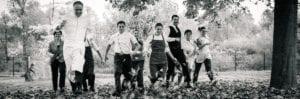 Team des Hotel Menge im Laub